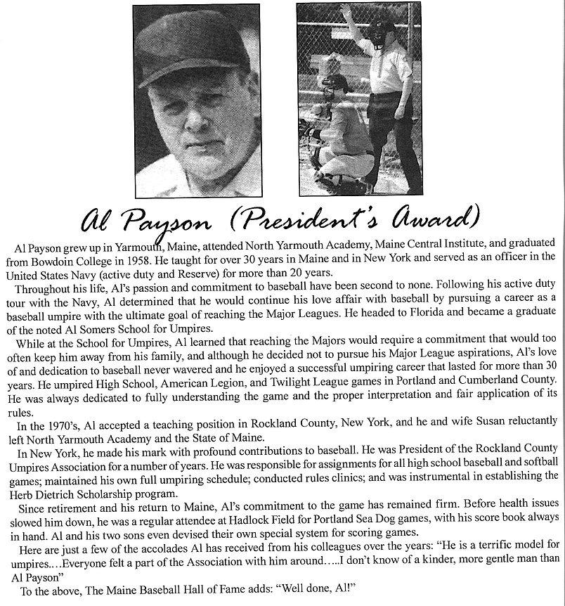 2011 Presidents award Al Payson.jpeg