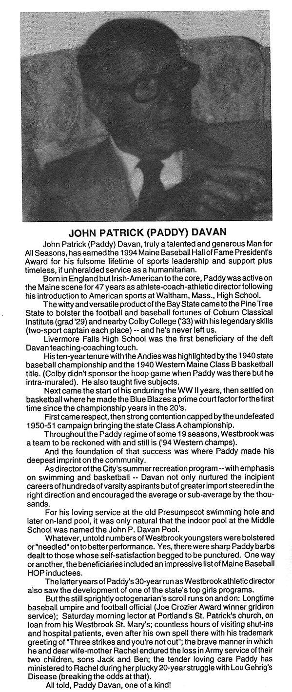 1994 Presidents award Paddy Davan copy.j