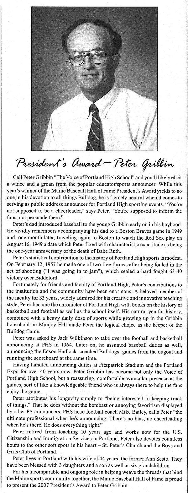 2007 Presidents award Peter Gribbin.jpeg