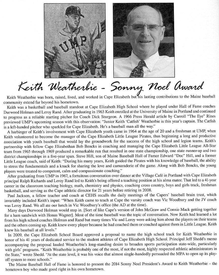 2014 Presidents award Keith Weatherbie.j
