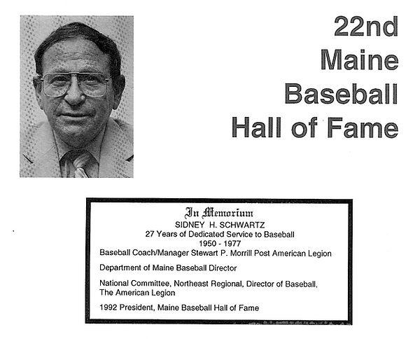 1992 Presidents award Sidney Schwartz.jp