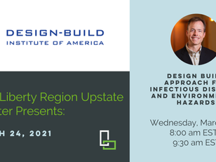 DBIA Liberty Region Upstate NY Chapter Webinar Featuring Casey Bernhard - Wednesday, March 24th