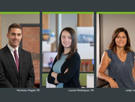 LaBella Congratulates Three New PE's!