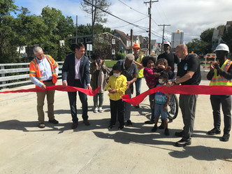 West Colvin St. Bridge Reopening & Ribbon Cutting