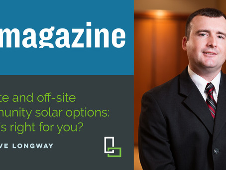 Steve Longway Shares His Expertise with PV Magazine on Commercial-Scale Solar