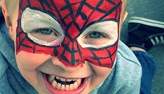 maquillage-super-héros-fête