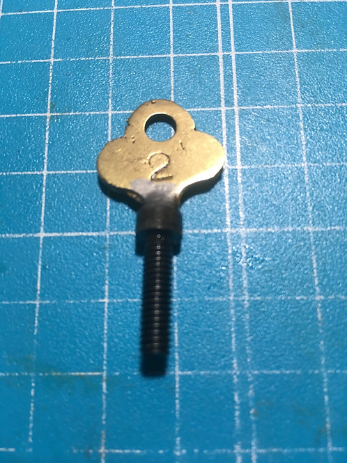 Old key Thumb screw,8-32
