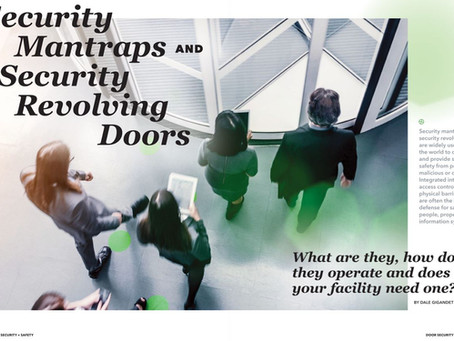 Security Mantraps and Security Revolving Doors
