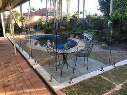 glass pool fencing belmere glass pool fencing sunshine coast