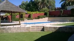 See Thru Clear glass pool fencing sunshine coast 3