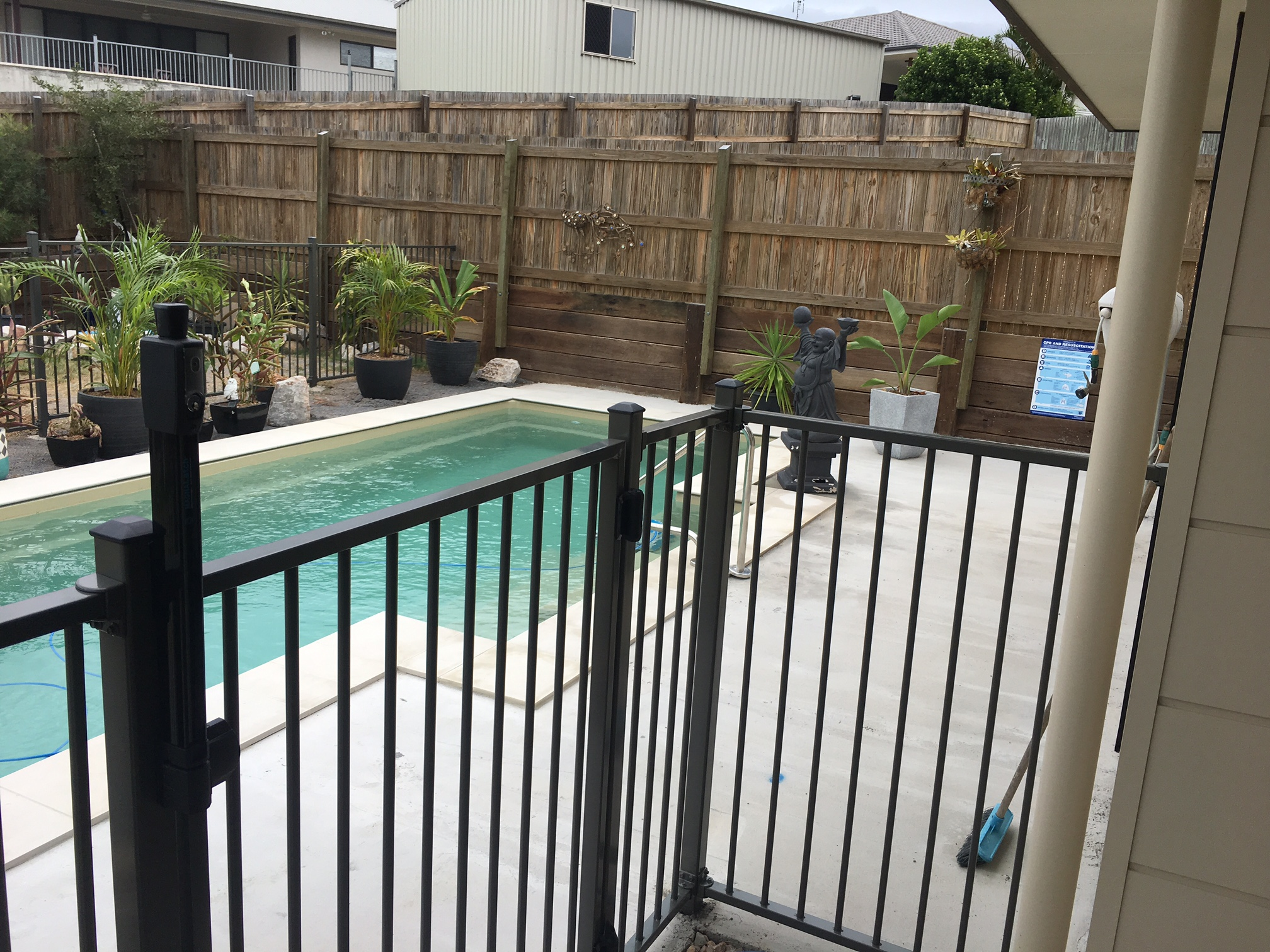 Glass Pool Fence in Sunshine Coast