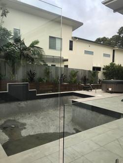 Yaroomba_Glass Pool Fence Peregian Spigots 4