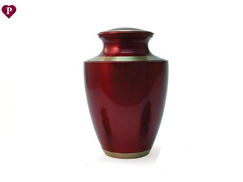 Trinity Crimson Large Urn