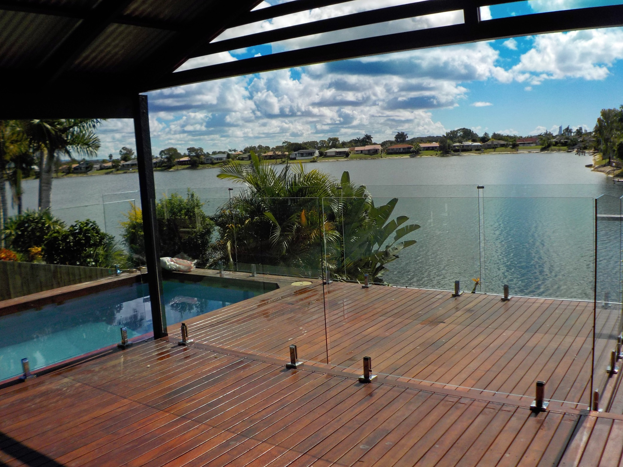 glass pool fencing sunshine coast kawana waters