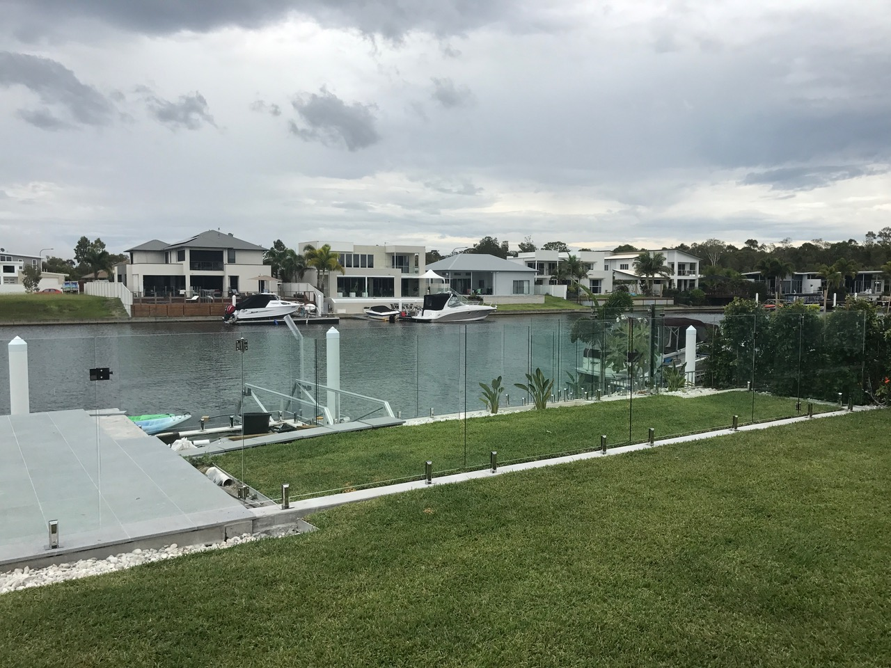 Pelican Waters glass pool fencing sunshine coast 3