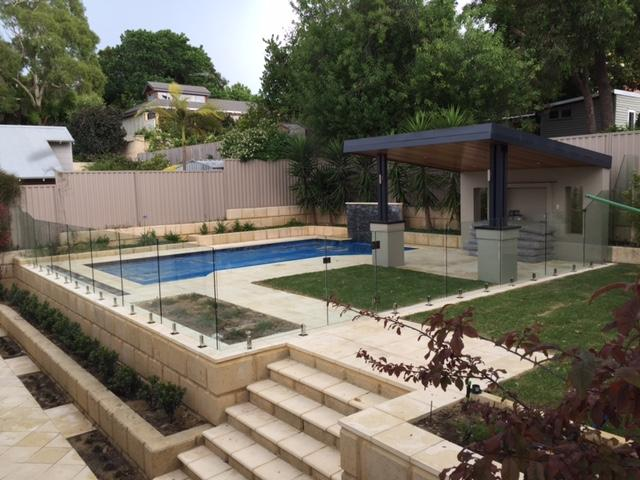See Thru Clear glass pool fencing sunshine coast 5