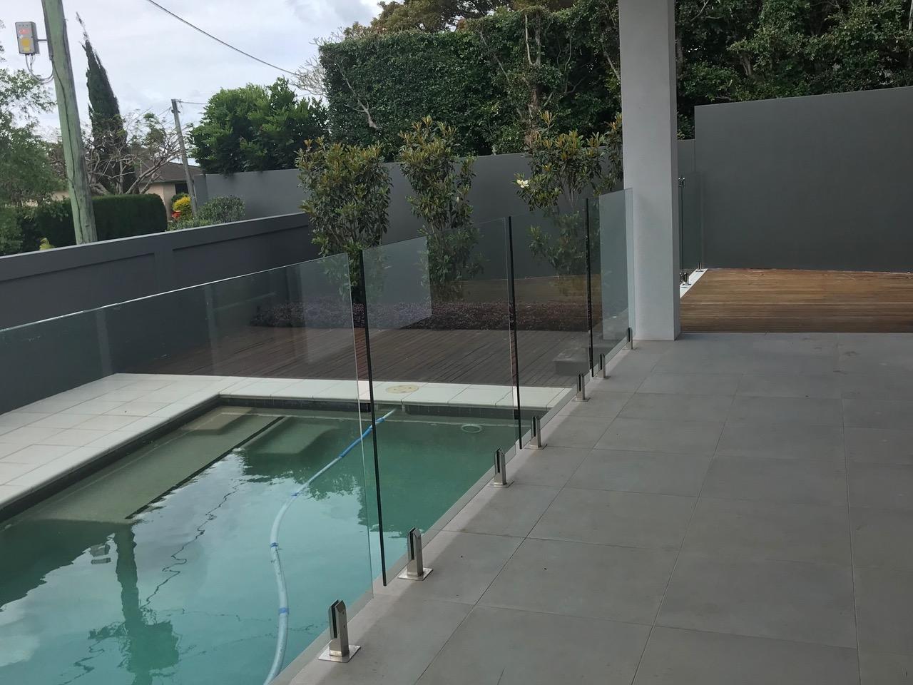 Buderim Glass Pool Fencing 2
