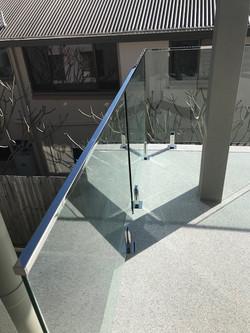 Balustrading frameless See thru clear fencing