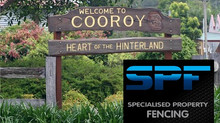 Specialised Property Fencing will be in Cooroy this week installing a new fence!