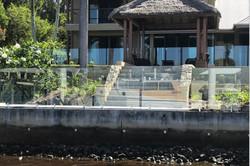 glass pool fencing pelican waters 1