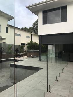Yaroomba_Glass Pool Fence Peregian Spigots 2