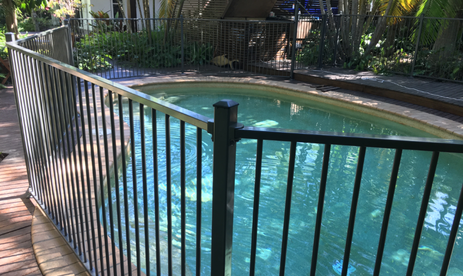 Pool Aluminium Fencing