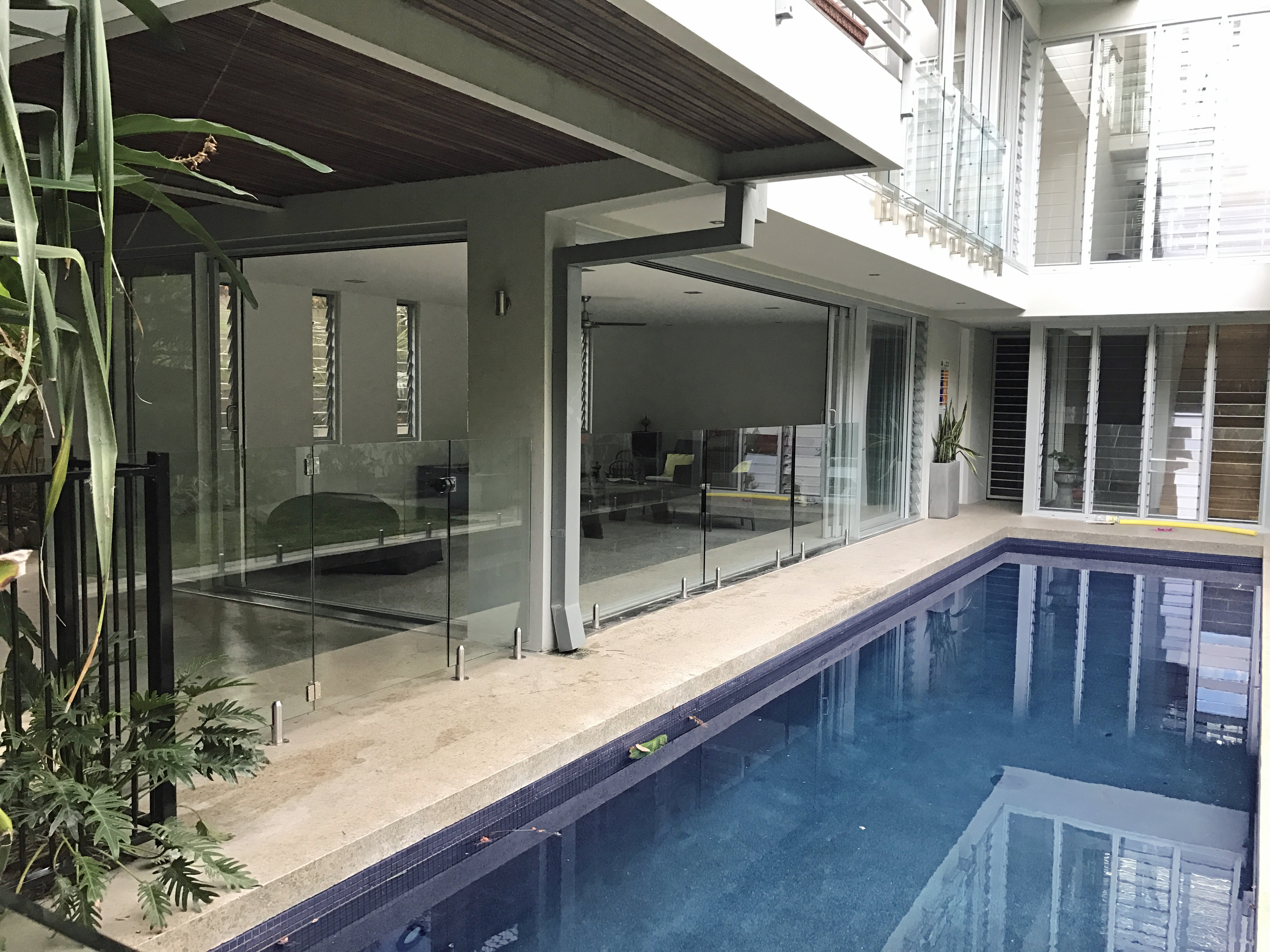 Glass Pool Fencing Sunshine Coast 1