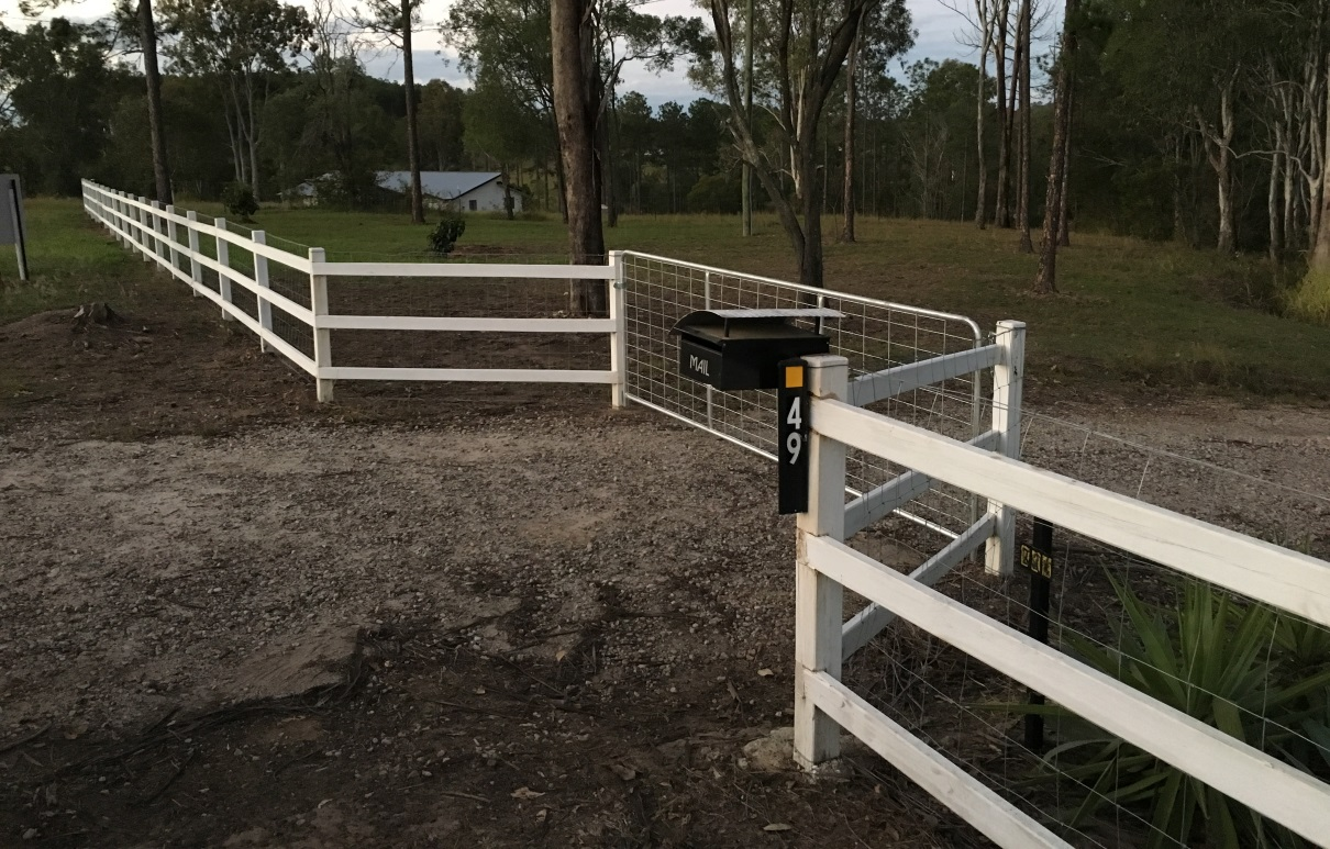 Property Boundary Fencing