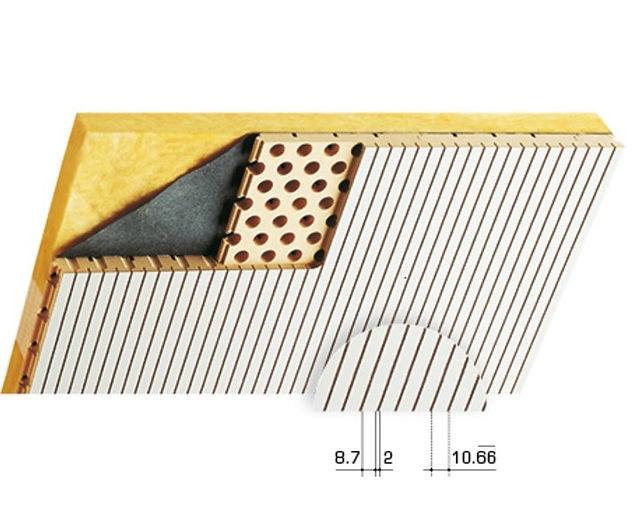 Topakustik Type 9/2 Acoustic Wood Sound Reduction