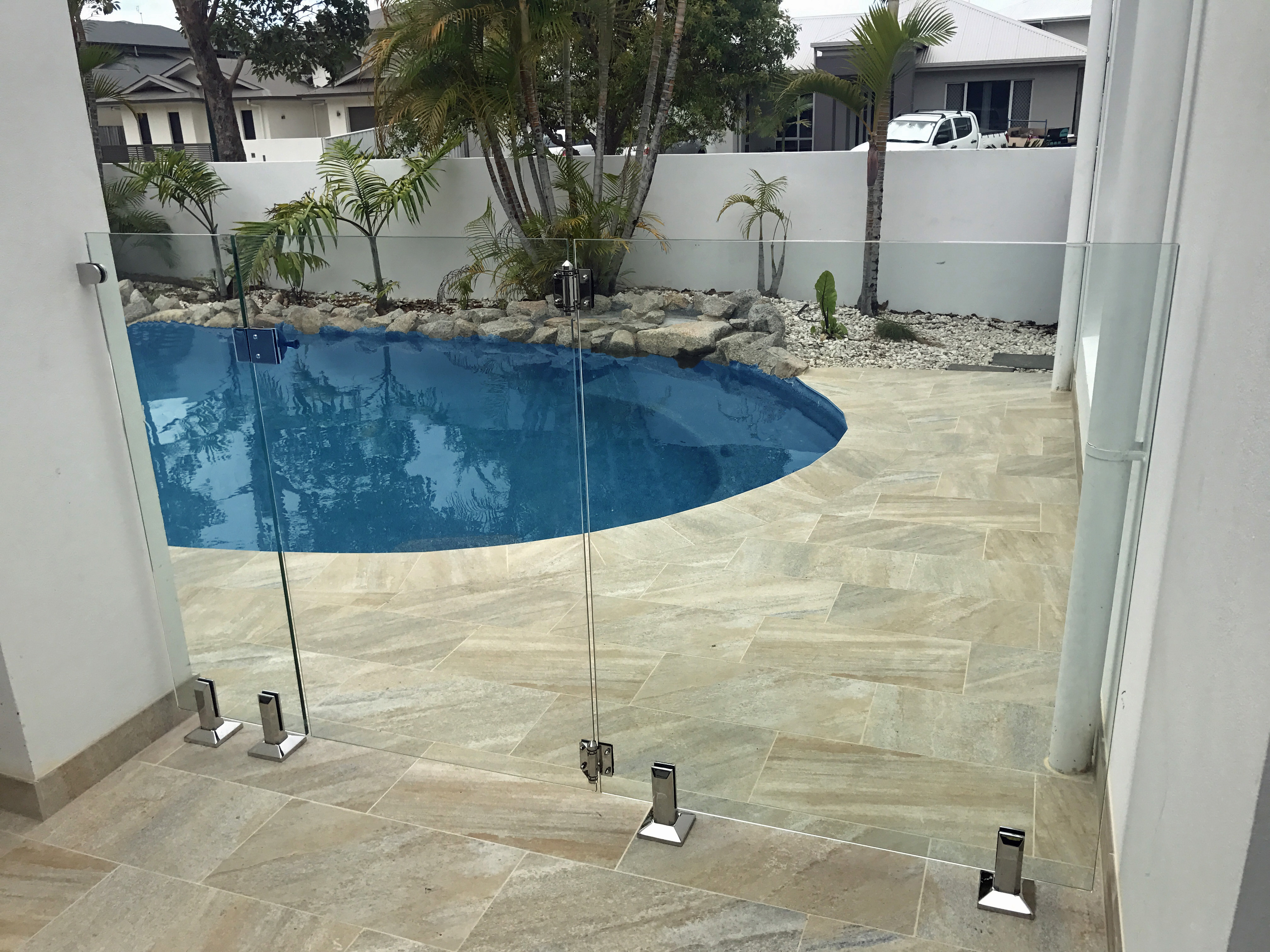 Glass Pool Fencing Sunshine Coast 2