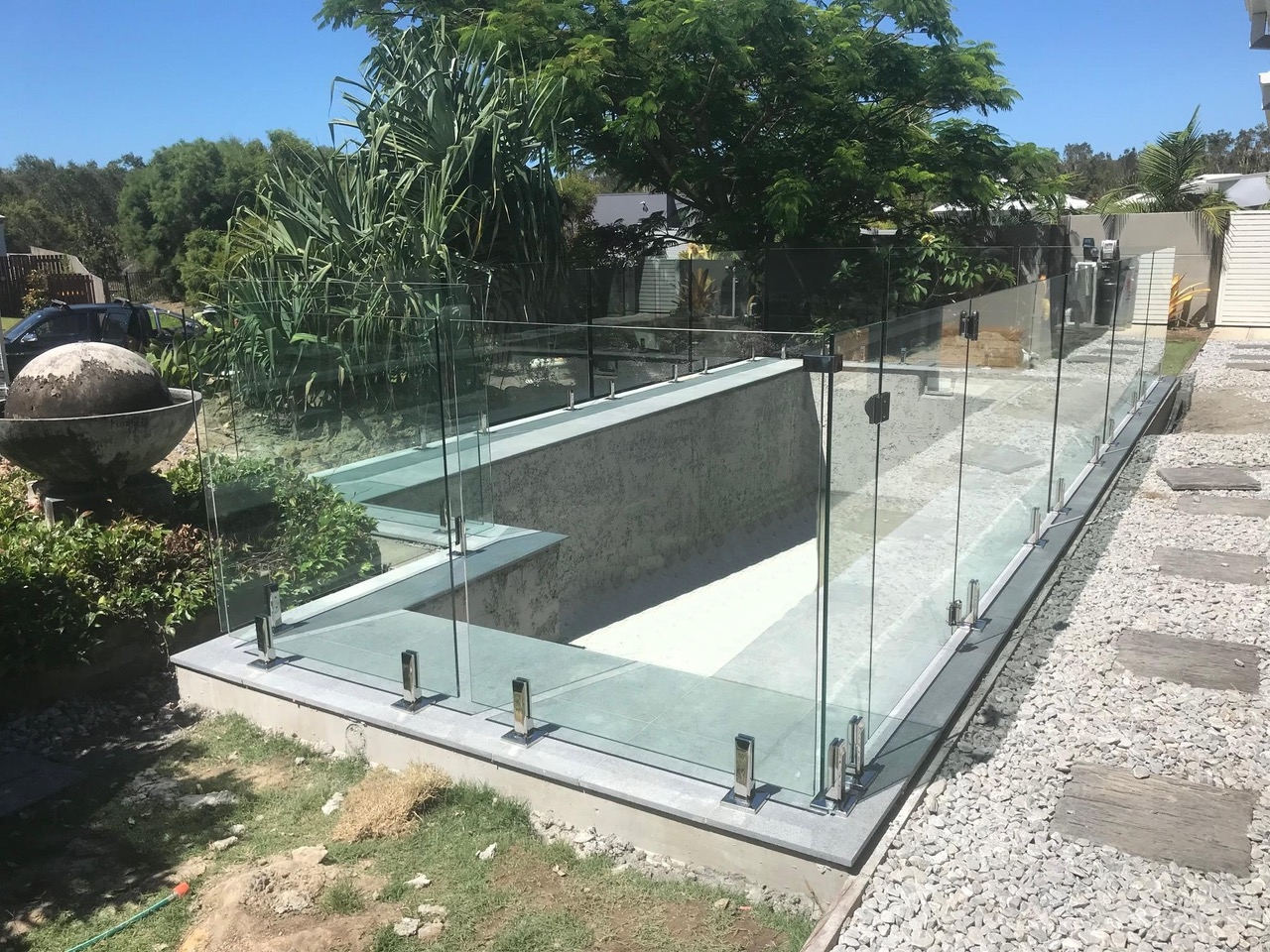 Peregian Springs Glass Pool Fence