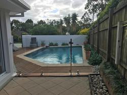 glass pool fencing sunshine coast glass pool fence 16