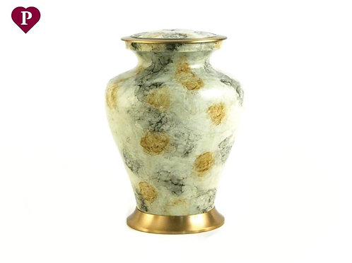 White Marble Large Urn