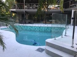 Frameless Glass pool Fencing Sunshine Coast Glass Pool Fence Sunshine Coast