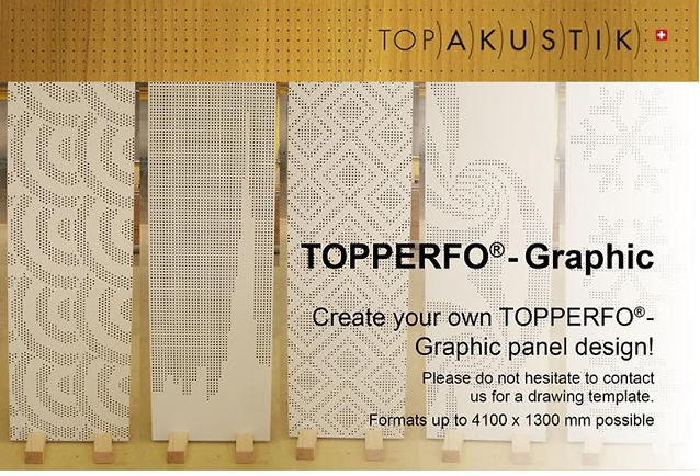 TopPerfo Type Grahpic Acoustic Wood Sound Reduction