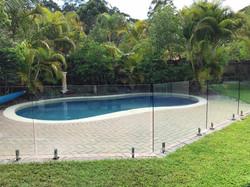 Glass Pool fencing specialist sunshine coast 104