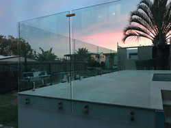 see thru clear glass pool fencing sunshine coast dicky beach install 3