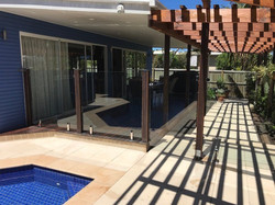 thumbnail_Glass Pool fencing Dicky Beach 2