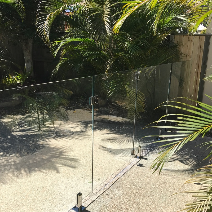 glass pool fencing sunshine coast twin waters 2