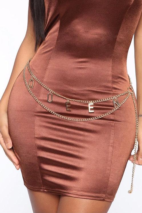 Drippin Chain Belt (Gold)