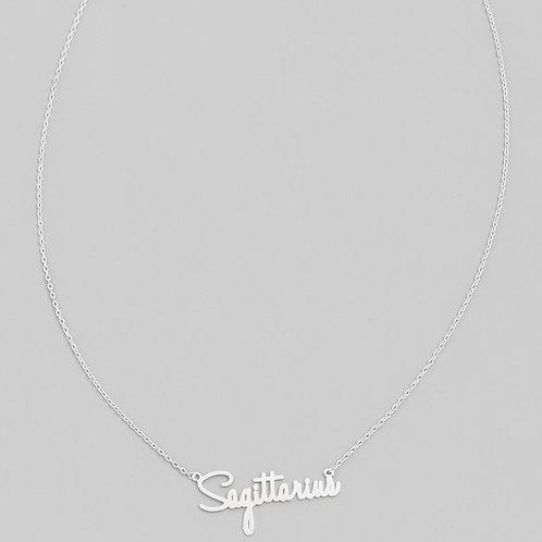 Zodiac Necklace (Silver)
