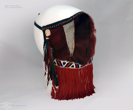 Christina King Inuvialuit Fortitude  Mask 1