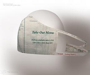 Don Kwan Chinese Take Out Menu Mask