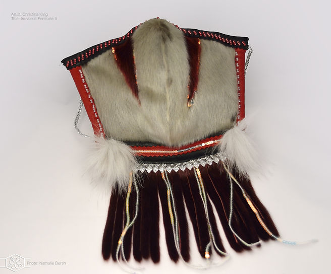 Christina King Inuvialuit Fortitude Mask 2