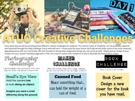 Daily Creative Challenges - Day 1