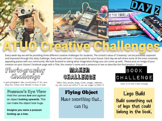 Daily Creative Challenge - Day 2