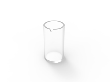 BIRD BEAK CUP = GENTLE MAN GLASS