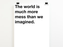 THE WOLRD WE IMAGINE