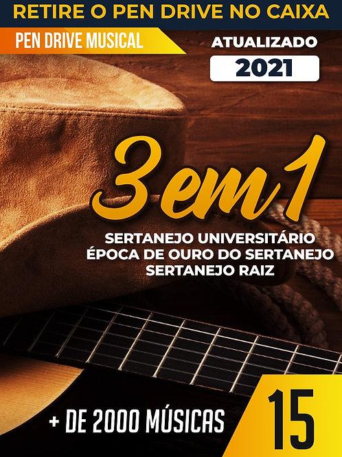3X1 - SERTANEJO UNIVERSITÁRIO, ÉPOCA DE OURO E RAIZ