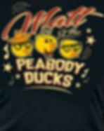 Matt and the Peabody Ducks t-shirt woman buy